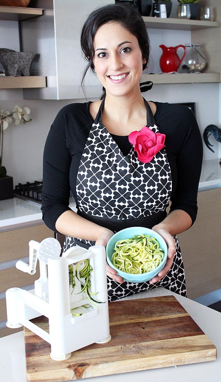 Inspiralized with spiralizer