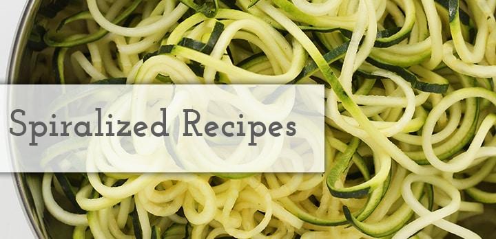 Spiralized Recipes - Inspiralized.com