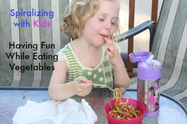 Making Vegetables Fun for Kids with Zucchini Pasta