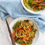 Spiralized Vegetable Lo Mein