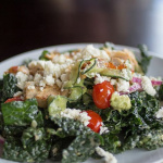 Fashion, Food and a Kale Greek Salad