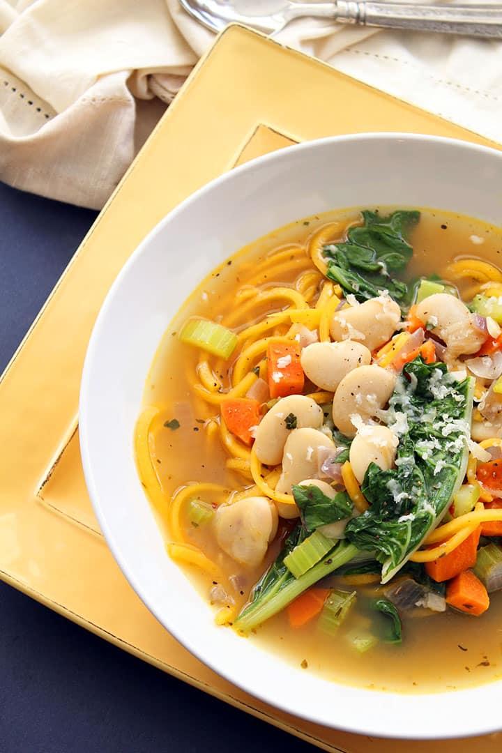 Butternut Squash Noodle Soup