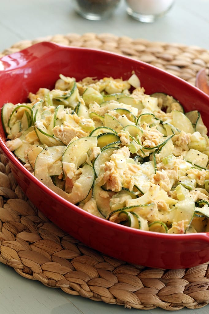 Tuna Pasta Salad With Celery & Egg Recipe — Dishmaps