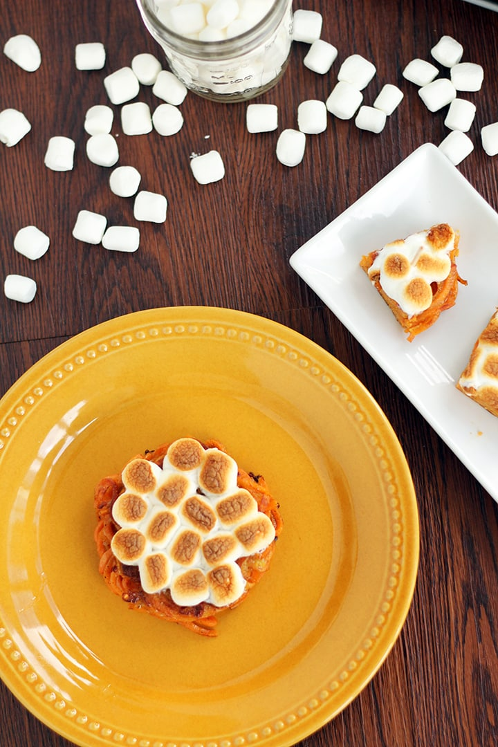 "Mini Sweet Potato ""Casseroles"" with Vegan Marshmallows"