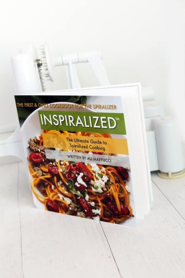 Inspiralized Cookbook: Order Yours Today for the Holidays!