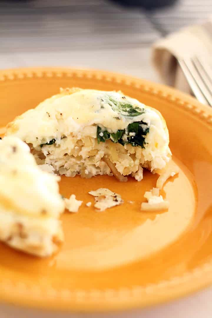 Potato Noodle Frittata Muffin