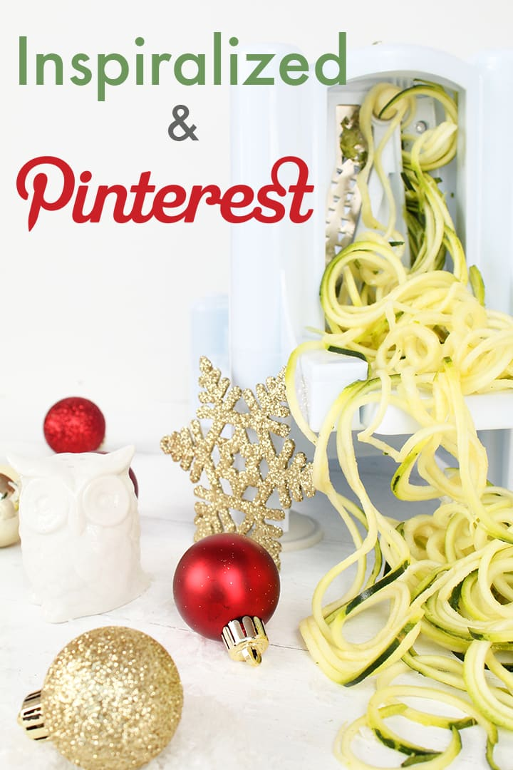 Inspiralized and Pinterest
