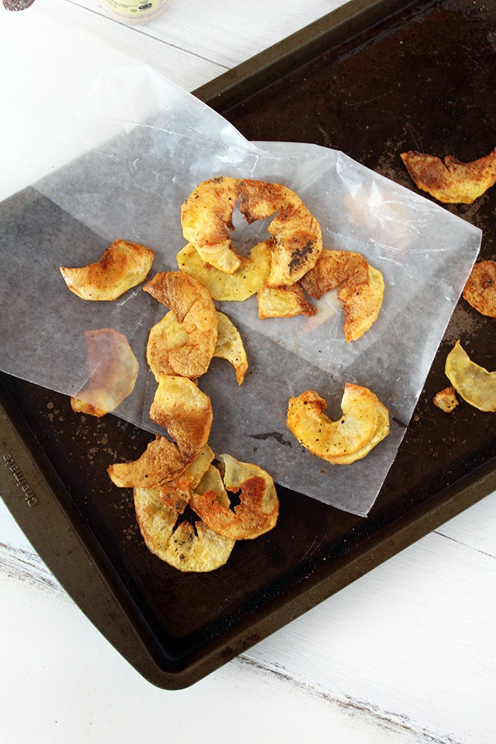 Organic Garlic Salt Potato Chips