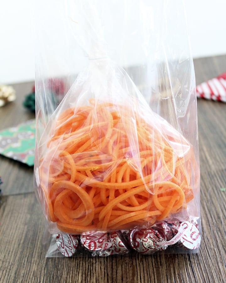 Spiralized Veggie Gift Bags