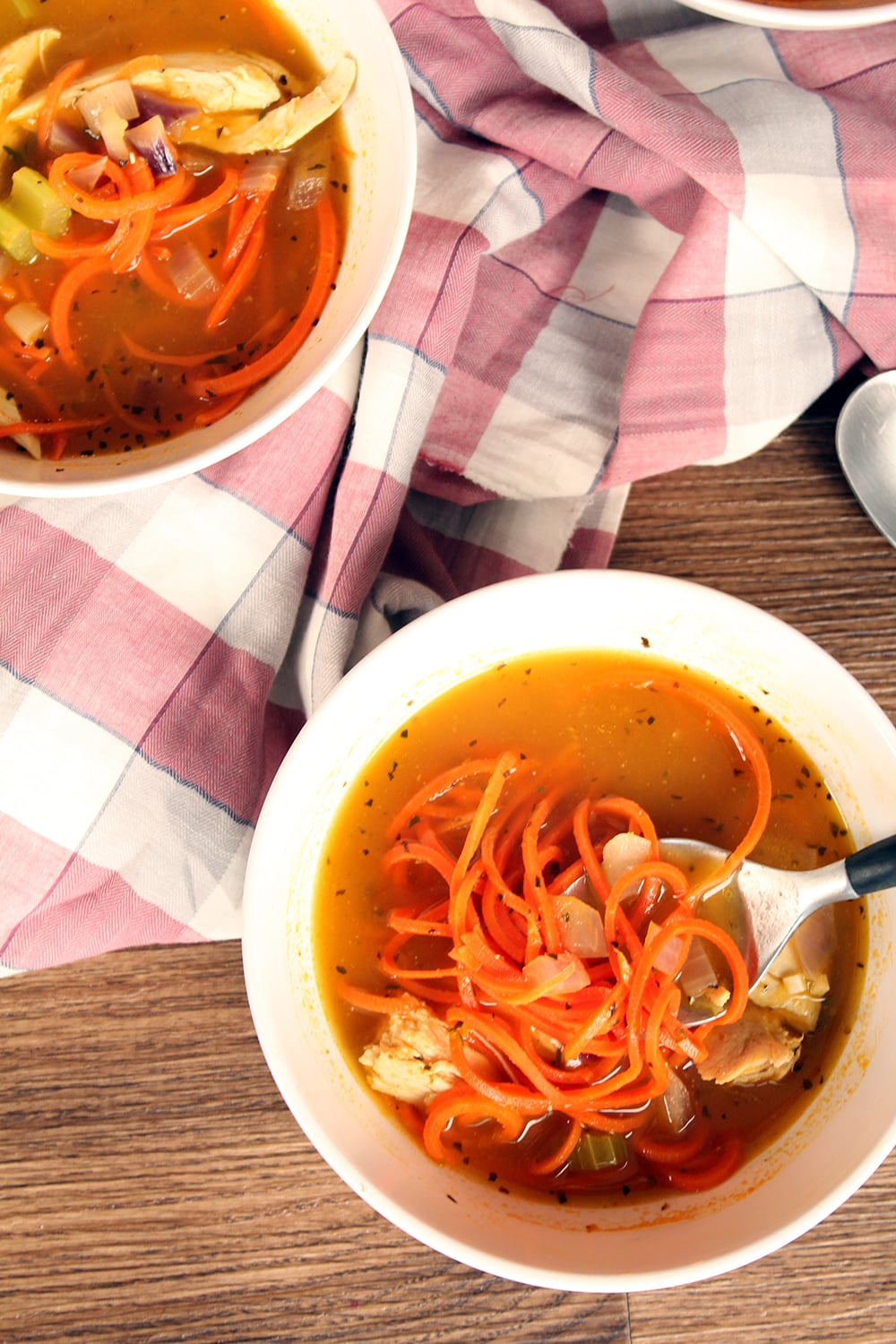 Chicken Carrot Noodle Soup
