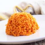 Garlic Sweet Potato Rice