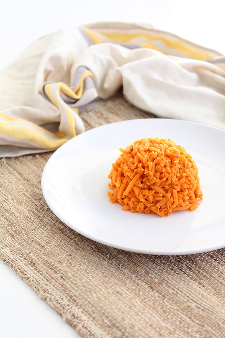Garlic Sweet Potato Rice