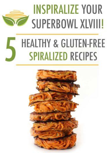 Superbowl Sunday: Healthy Spiralized Recipe Ideas
