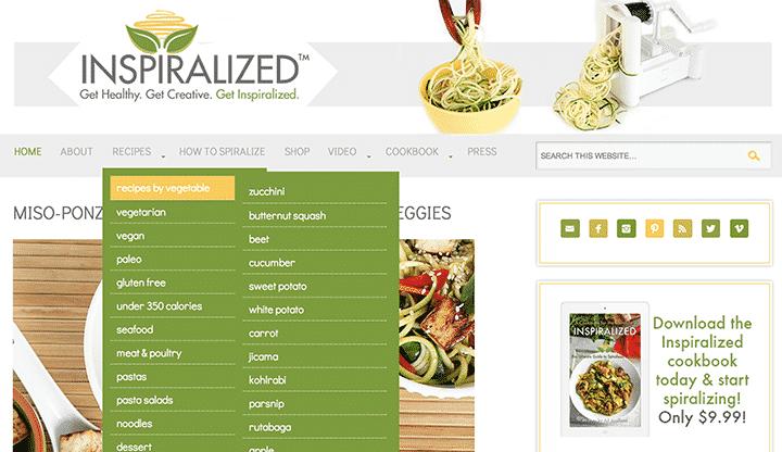 Inspiralized Food Blog
