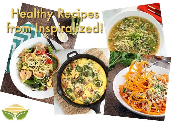 Inspiralized Healthy Recipes