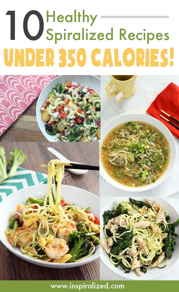 10 healthy spiralized recipes under 350 calories inspiralized 10 healthy spiralized recipes under 350 calories forumfinder Gallery