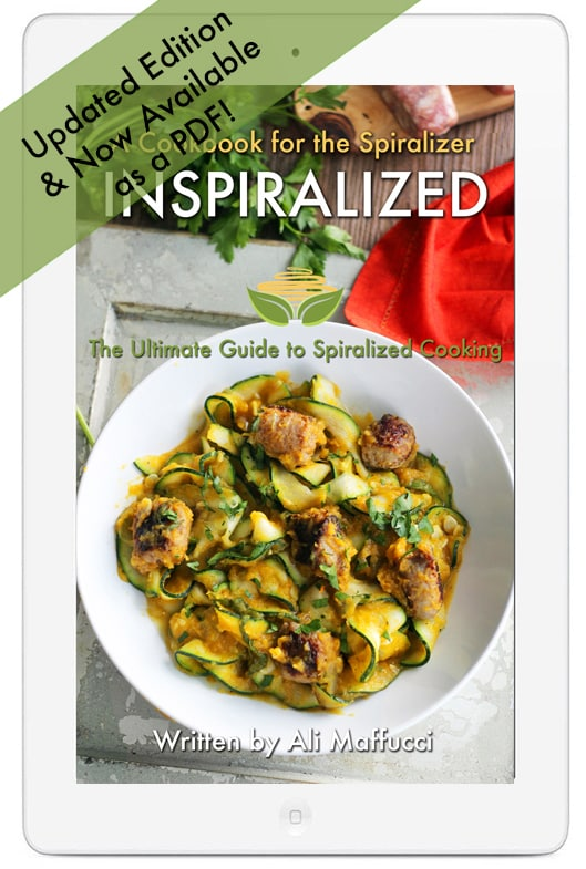 Inspiralized ebook is now available as a pdf inspiralized inspiralized ebook cookbook spiralizer forumfinder Image collections