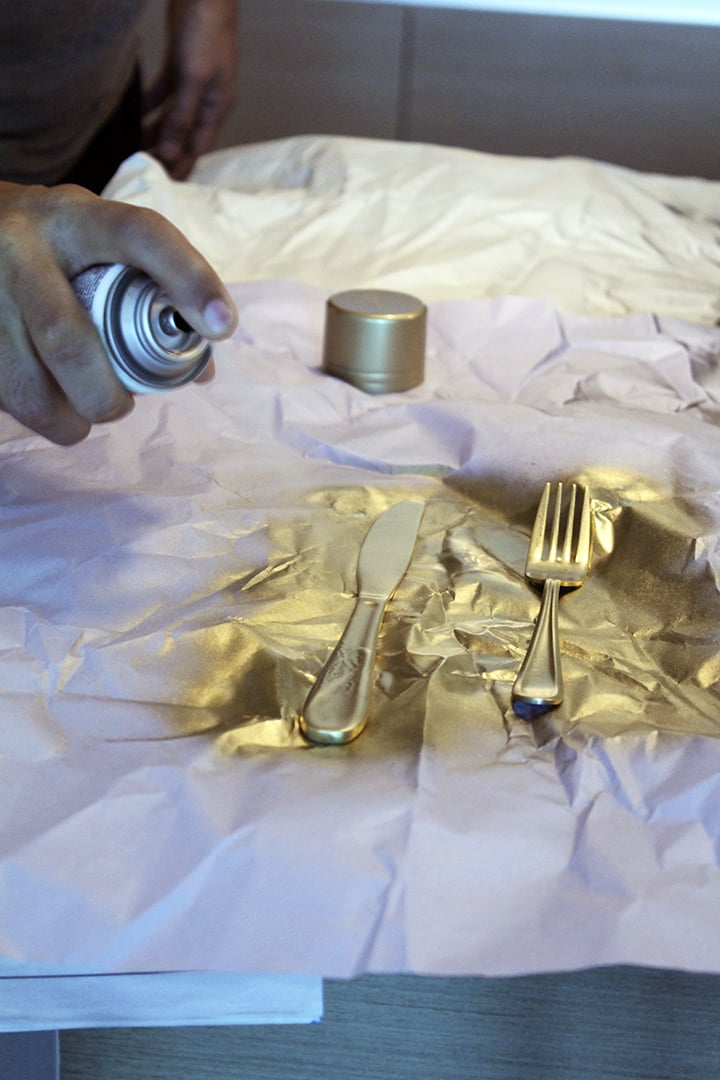 How to Make Gold Flatware