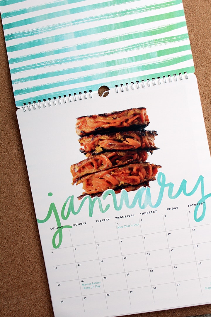 An Inspiralized Calendar + A @Minted Giveaway!