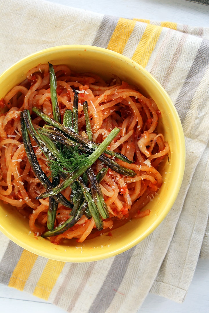 Roasted Tomato And Fennel With Tagliatelle Recipes — Dishmaps