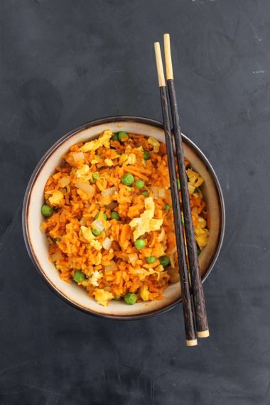 Sweet Potato Fried Rice