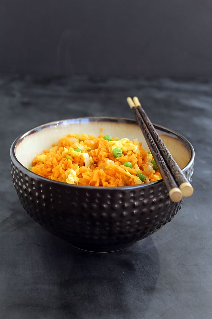Vegetable Sweet Potato Fried Rice