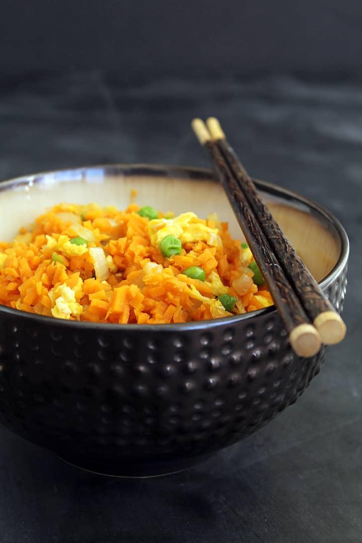 Vegetable Sweet Potato Fried Rice