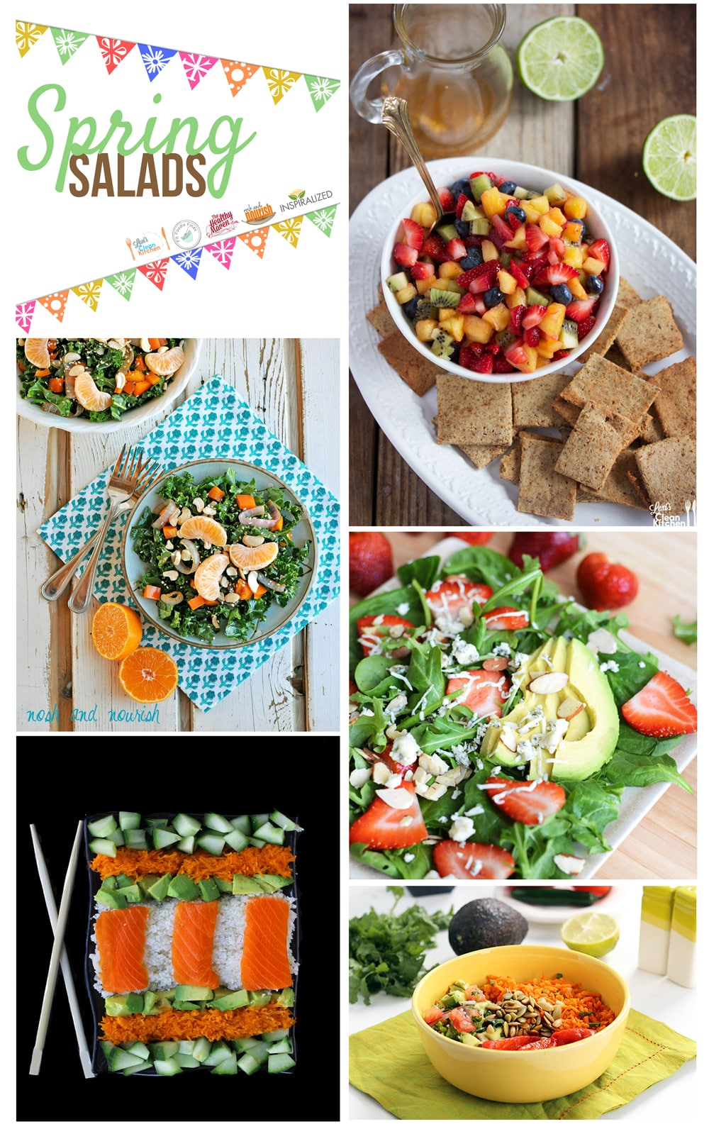 Inspiralized Recipe Roundup