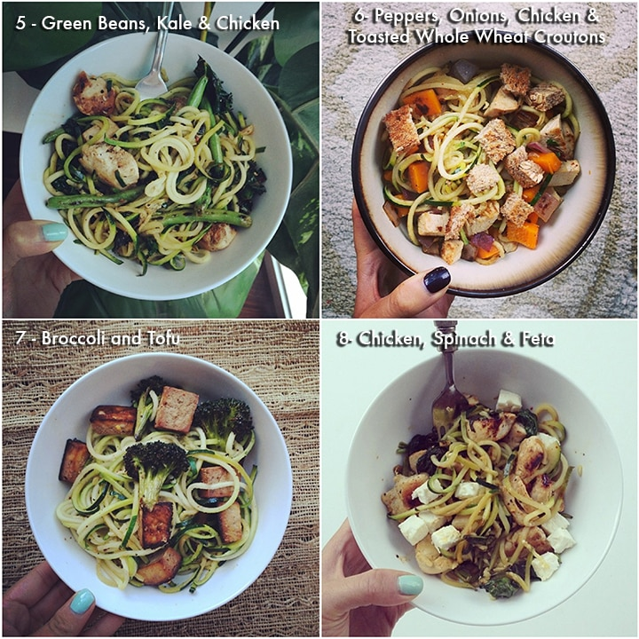 Easy lunch recipes - Inspiralized