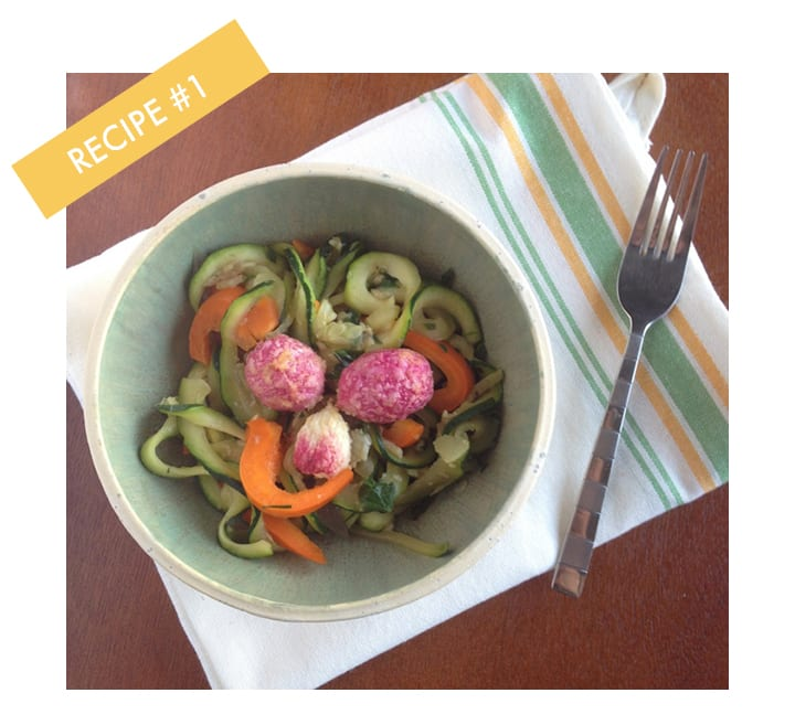 Inspiralized Recipe Challenge