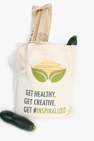 Inspiralized Canvas Bag Giveaway + Discount Code