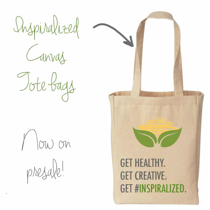 Inspiralized Canvas Tote Bags