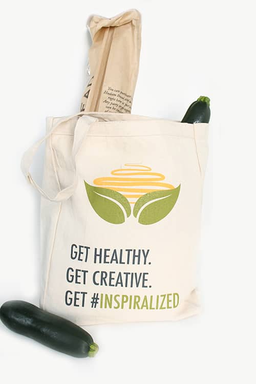 Inspiralized Canvas Tote Bag