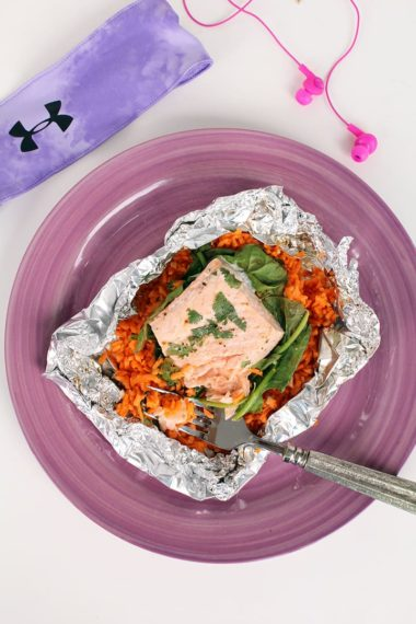 Easy Post-Workout Salmon Dinner