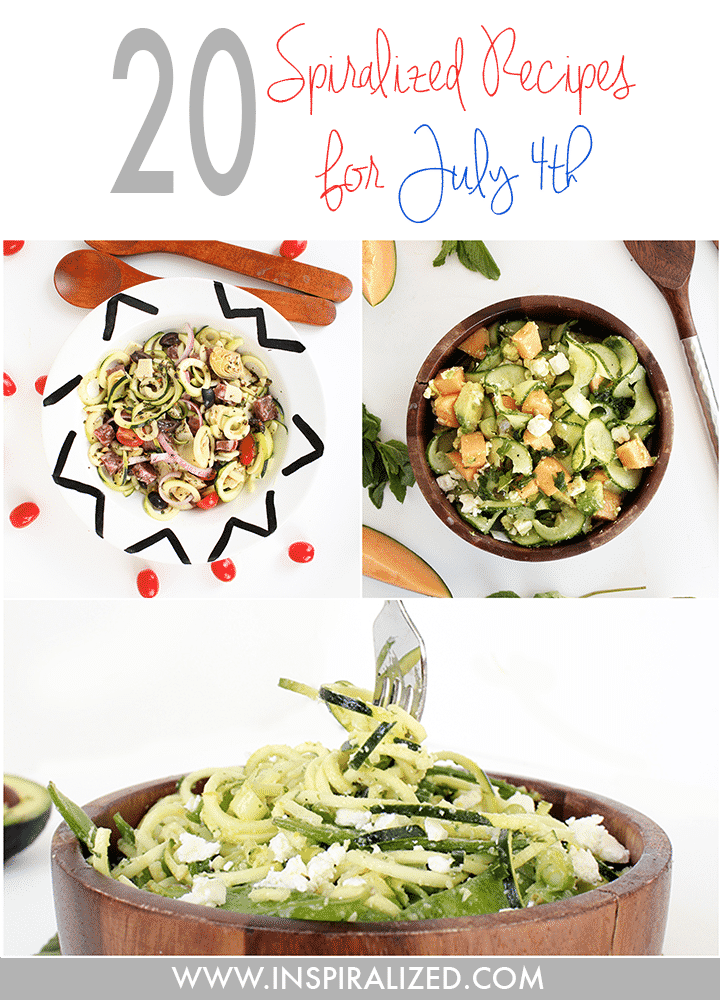 Inspiralized July 4th Recipes