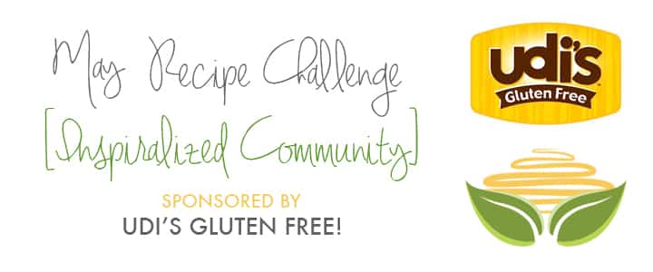 Inspiralized.com - Community May Recipe Challenge