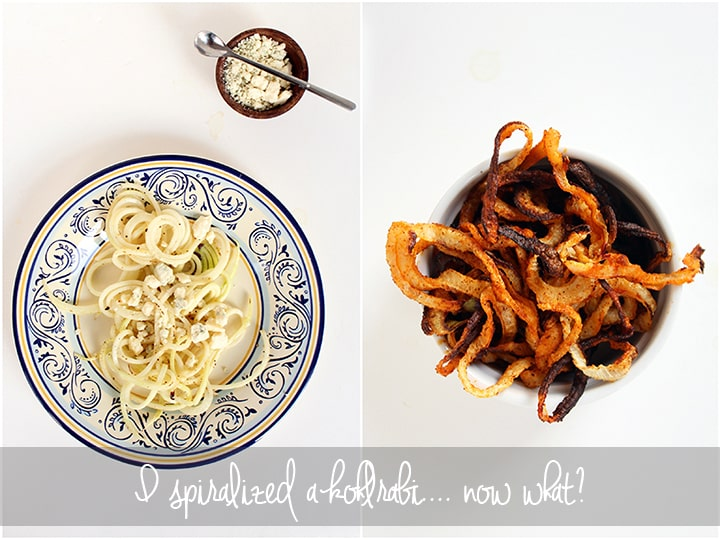 How to Use Spiralized Kohlrabi