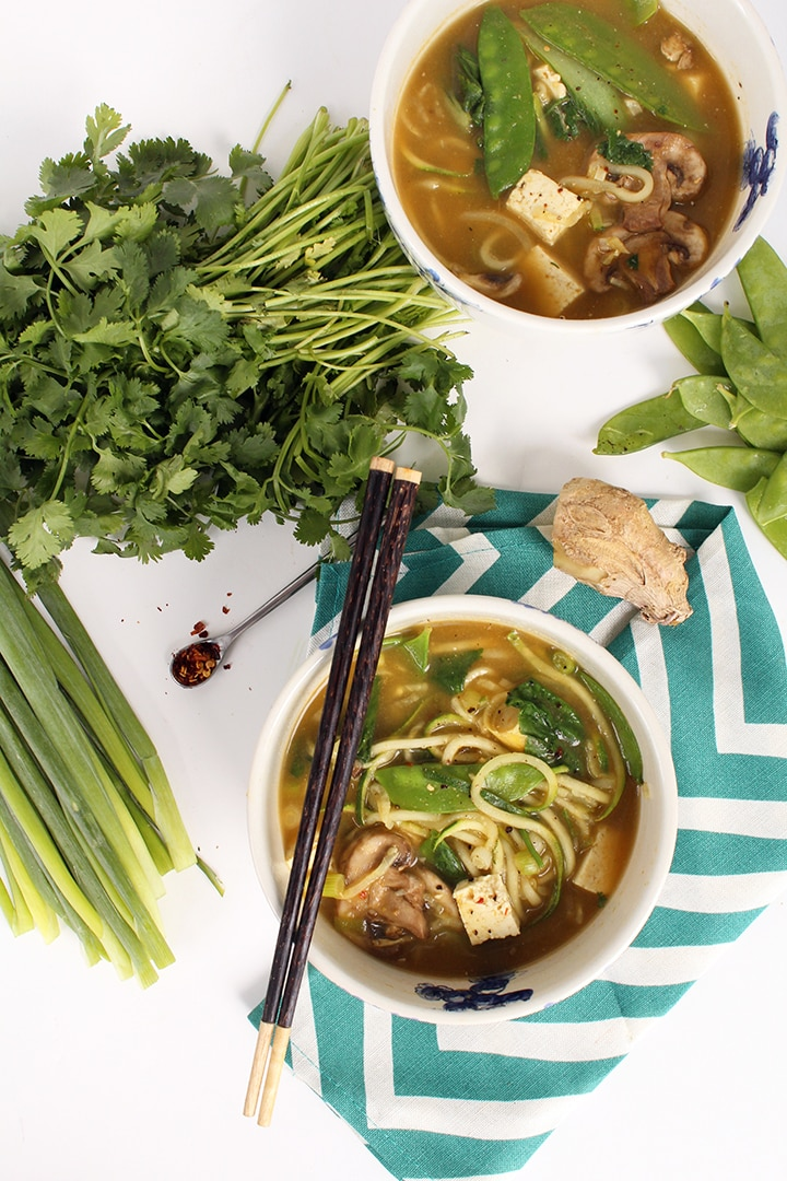 soup thai chicken noodle soup spicy curry noodle soup with thai red ...