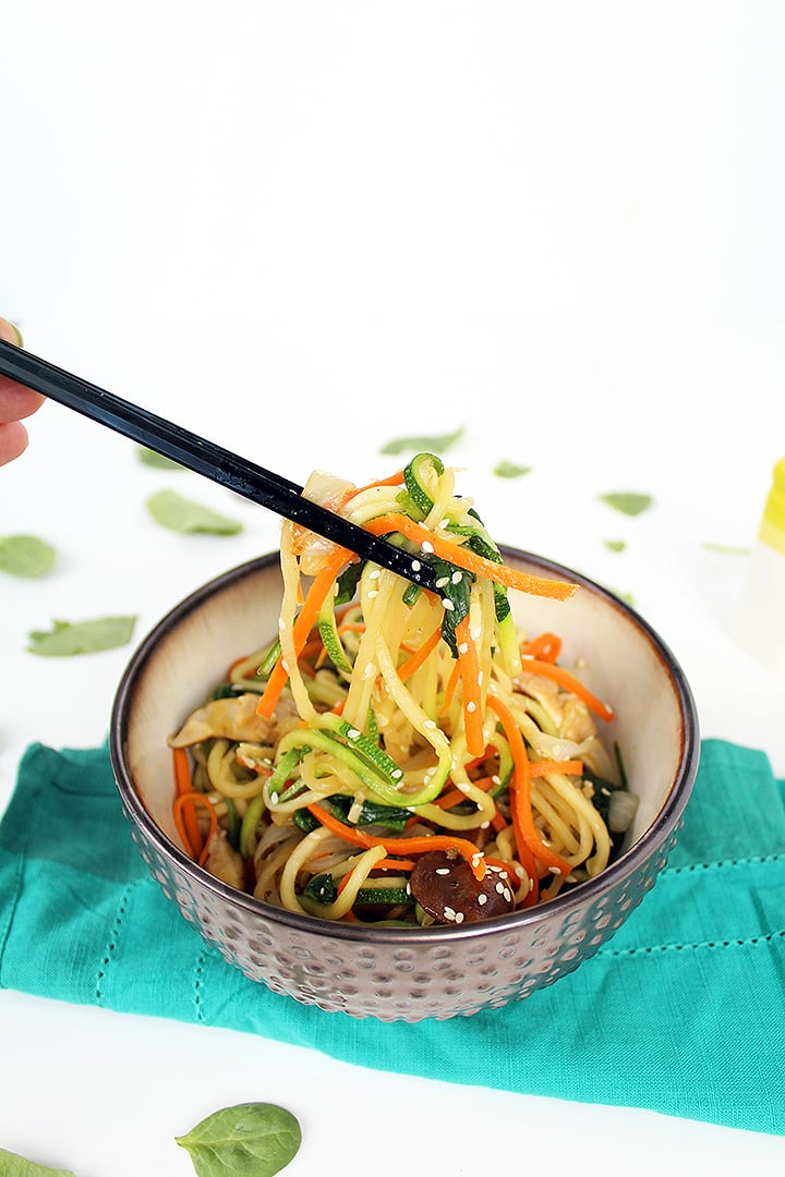 how to make japchae noodles