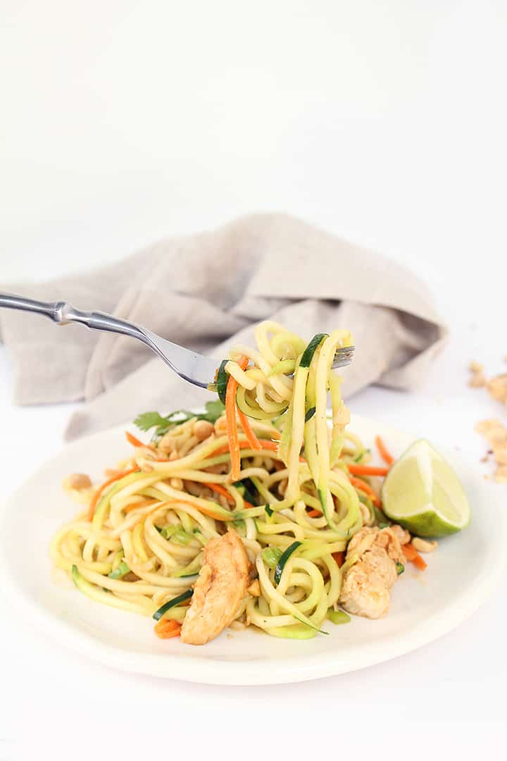 Asian Peanut Noodles Recipe — Dishmaps