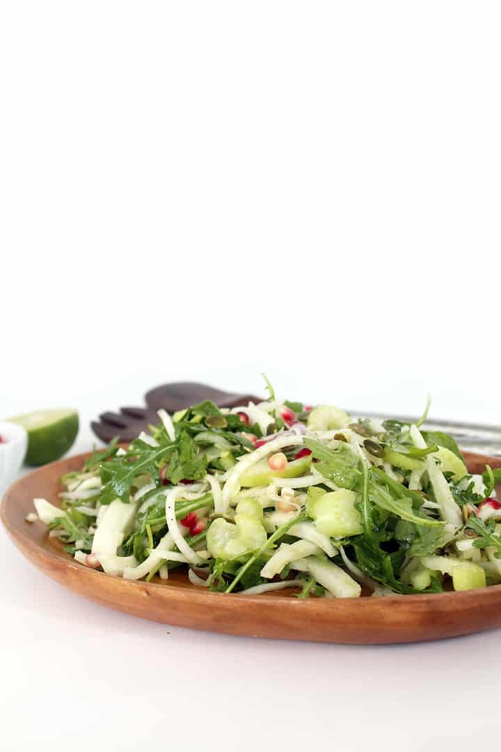 Fennel, Celery, and Pomegranate Salad | Inspiralized