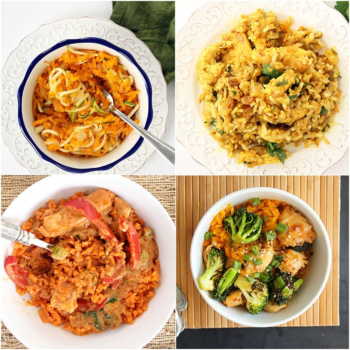 The Classic Pasta, Noodle & Rice Dishes Inspiralized