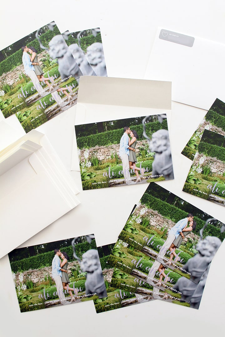 My Save The Dates from Minted! - Inspiralized.com