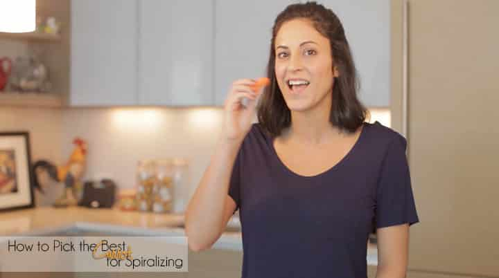 Video: How to Pick the Best Carrot for Spiralizing + Healthy Thanksgiving Tips
