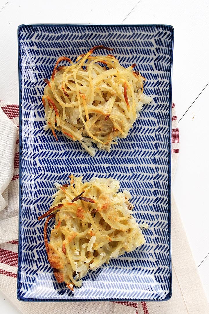 Spiralized Potato Noodle Kugel