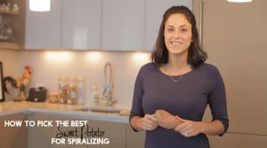 Video - Inspiralized.com, How to Pick the Best Sweet Potato for Spiralizing