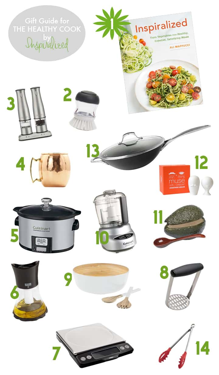 Gift Guide for the Healthy Cook by Inspiralized