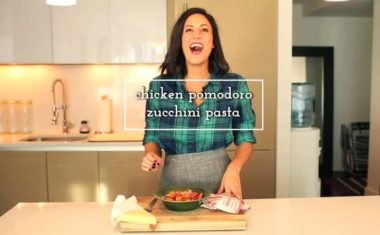 Easy Weeknight Chicken Pomodoro Zucchini Pasta
