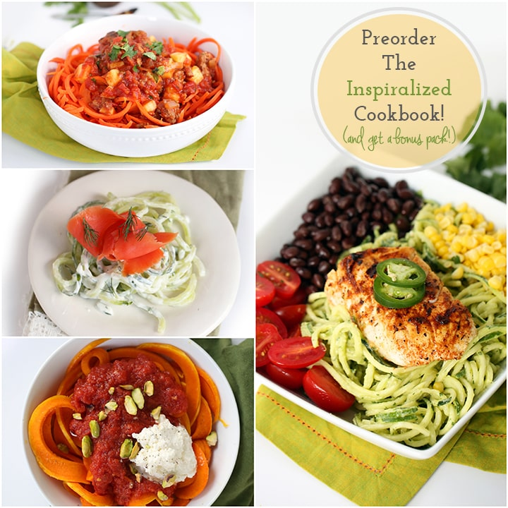Inspiralized Cookbook - Pre Order Today!