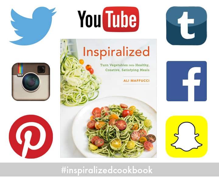 Inspiralized Cookbook - Social Media